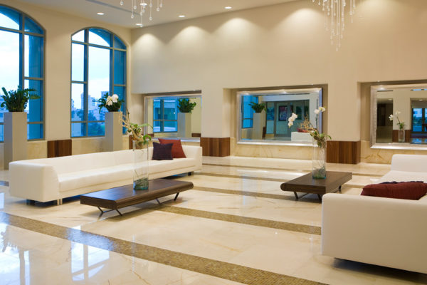Marble Floor in Condado, Puerto Rico